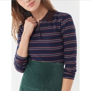 urban outfitters long sleeve polo